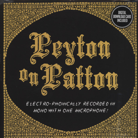 Reverend Peyton's Big Damn Band, The - Peyton On Patton