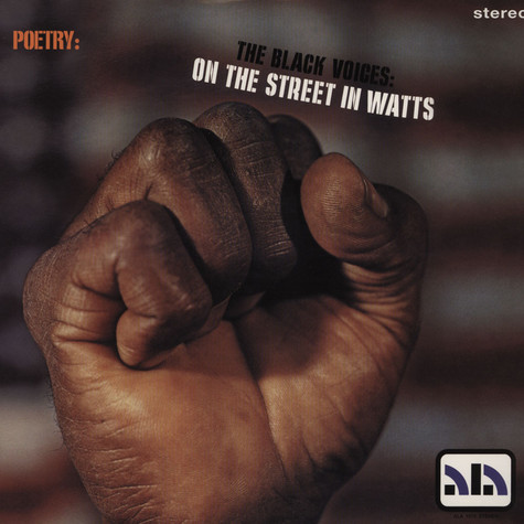 Watts Prophets, The - Black Voices: On The Street In Watts