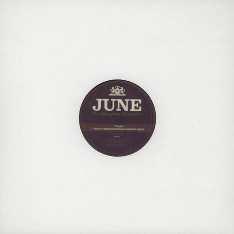 June - The Olympian Chronicles