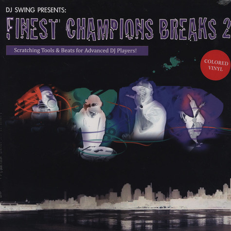 DJ Swing - Finest Champions Breaks Volume 2 Colored Edition