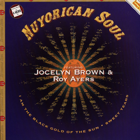 Nuyorican Soul - I Am The Black Gold Of The Sun feat. Jocelyn Brown & Roy Ayers 4 Hero Remix
