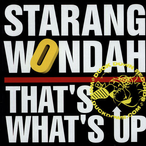 Starang Wonduh - That's What's Up