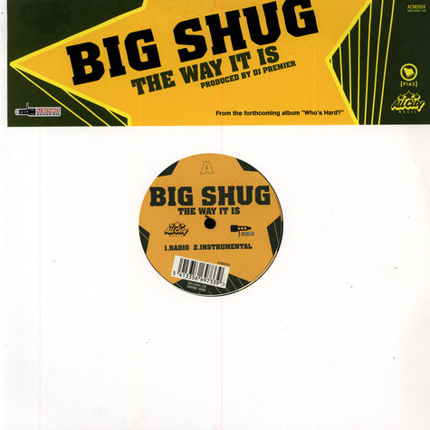 Big Shug - The way it is