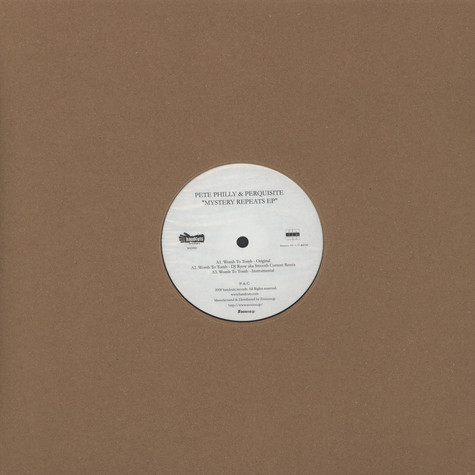 Pete Philly & Perquisite - Mystery Repeats EP