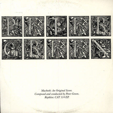 Peter Green - Macbeth:  An Original Score