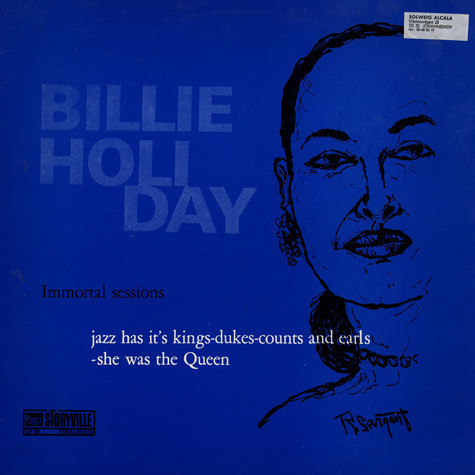 Billie Holiday - Immortal Sessions