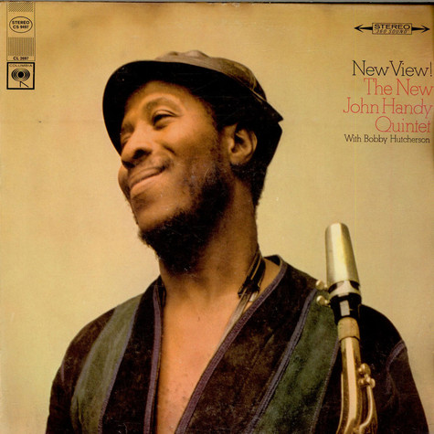 The New John Handy Quintet With Bobby Hutcherson - New View!