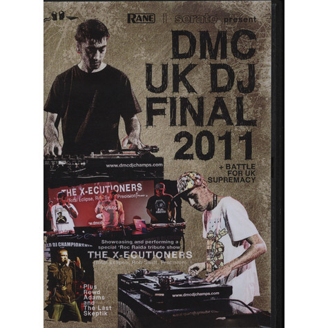 DMC DJ Championships - 2011 UK DJ Final