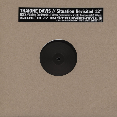 Thaione Davis - Situation revisisted