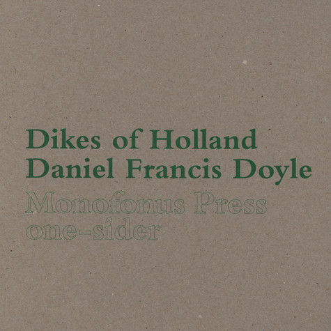 Dikes Of Holland / Daniel Francis Doyle - Daniel Francis Doyle / Dikes Of Holland