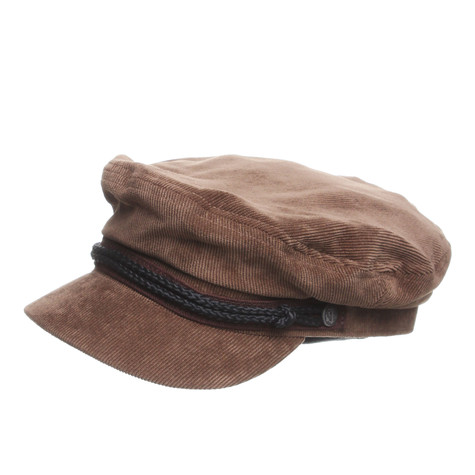 4e4c16a768ca5 Brixton - Fiddler Captain s Hat (Brown Corduroy)