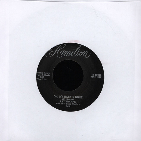 Ray Sharpe - Oh, My Baby's Gone