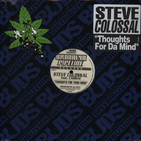 Steve Colossal - Thoughts For Your Mind feat. Cardiac