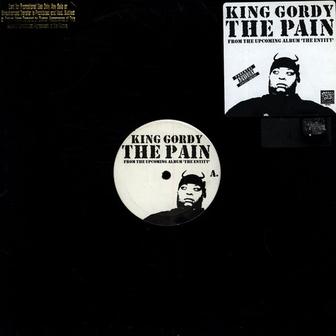 King Gordy - The pain