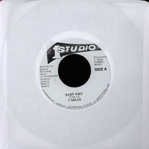 Cables / Sound Dimension - Baby Why / Version