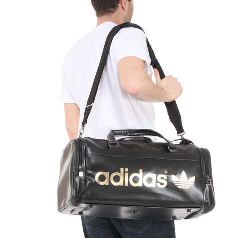 f6b1951375 adidas - Adicolor Teambag (Black   Metallic Gold)