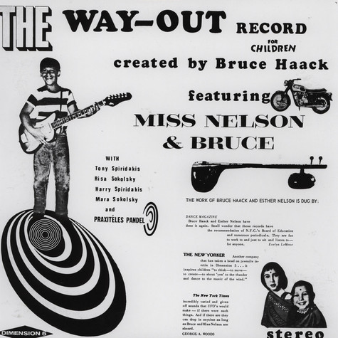 Bruce Haack & Ms. Nelson - Way Out Record For Children