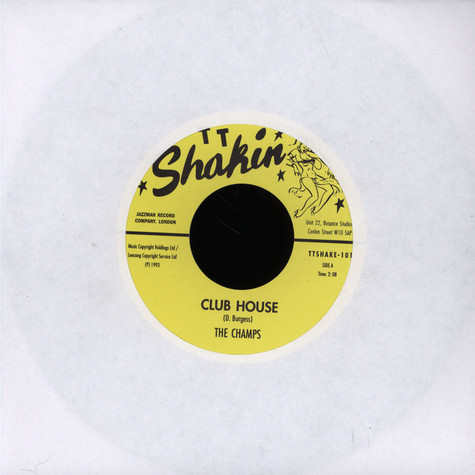 Champs, The / The Rumblers - Club House / Blockade
