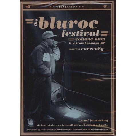 Bluroc Festival, The - Live From Brooklyn Feat. Curren$y