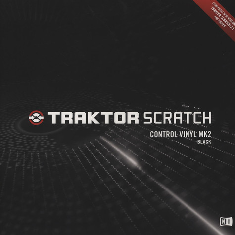 Native Instruments - Traktor Scratch Control Vinyl Black MK2