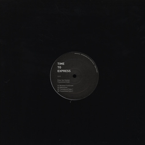 Peter Van Hoesen - Transitional State EP