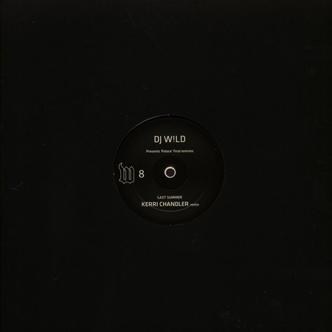 DJ W!ld - Album Sampler Kerri Chandler & Art Department remixes