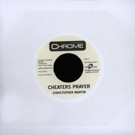 Christopher Martin - Cheaters Prayer
