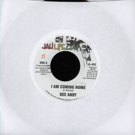 Dee Andy - I Am Coming Home