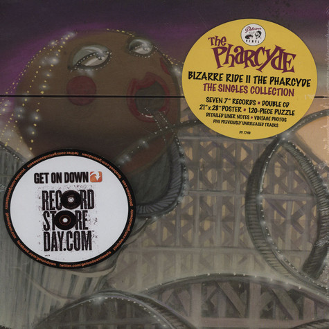 Pharcyde, The - Bizarre Ride II The Pharcyde: The Singles Collection Music Box