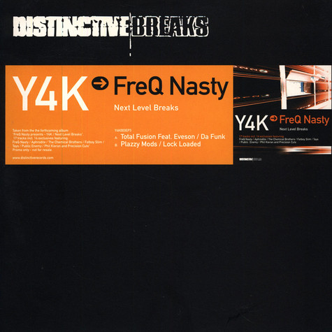 FreQ Nasty - Y4K -> FreQ Nasty - Next Level Breaks EP