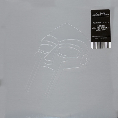 MF Doom - Operation: Doomsday Metal Mask Cover Edition