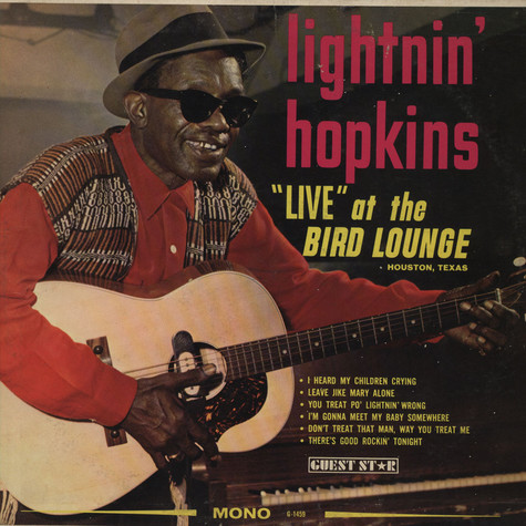 "Lightnin' Hopkins - ""Live"" At The Bird Lounge"