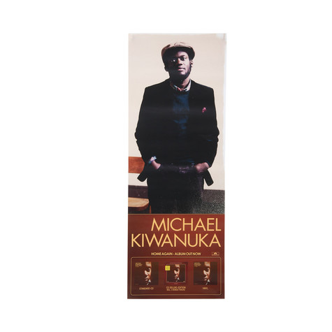 Michael Kiwanuka - Home Again Poster