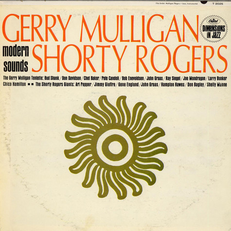 Gerry Mulligan & Shorty Rogers - Modern Sounds