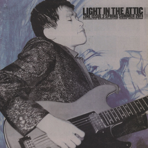 Light In The Attic Records  Zine - Issue Three - Spring Summer 2011