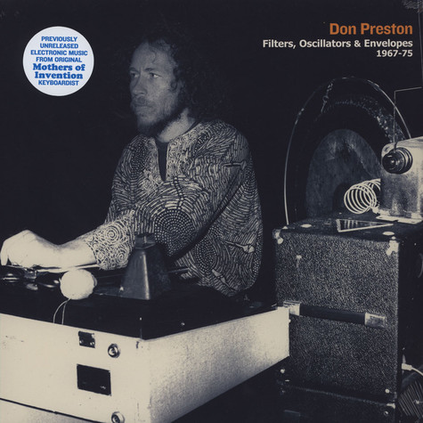 Don Preston - Filters, Oscillators & Envelopes 1967-75