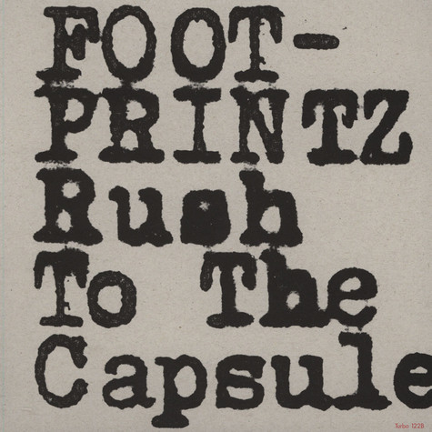 Footprintz - Rush To The Capsule Ewan Pearson Remix