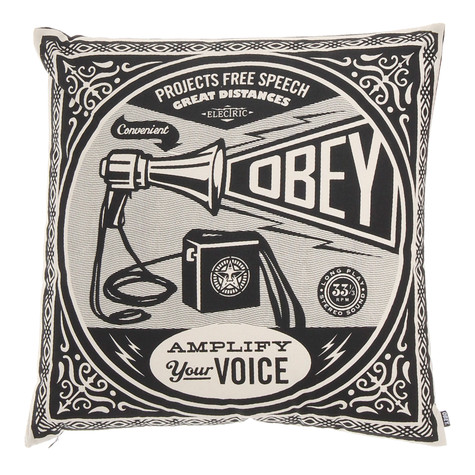 Obey - Free Speech Pillow