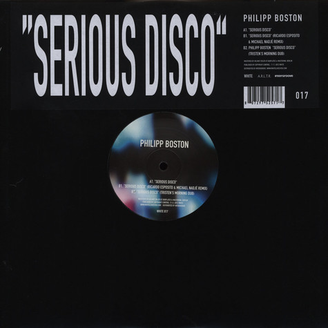 Philipp Boston - Serious Disco