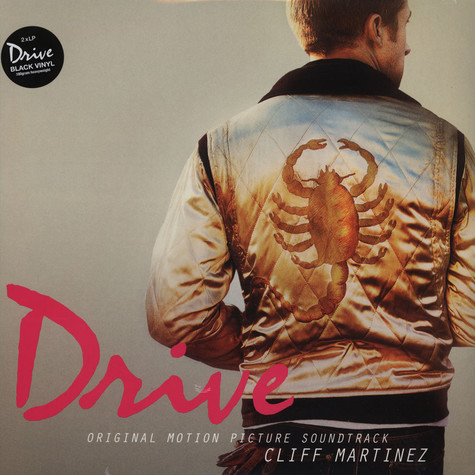 Cliff Martinez - OST Drive Black Vinyl Edition