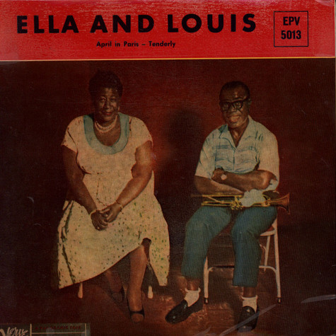 Ella Fitzgerald and Louis Armstrong - April In Paris / Tenderly