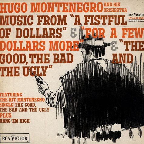 "Hugo Montenegro And His Orchestra - Music From ""A Fistful Of Dollars"" & ""For A Few Dollars More"" & ""The Good, The Bad And The Ugly"""