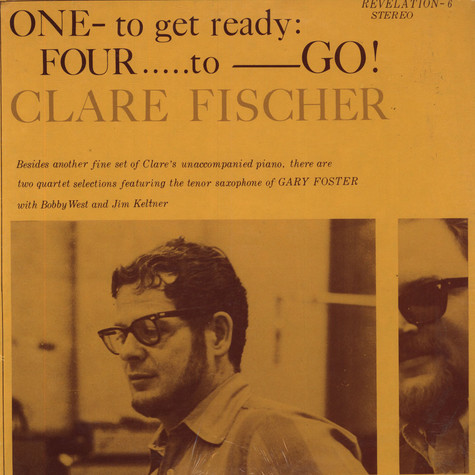 Clare Fischer - One To Get Ready, Four To Go!