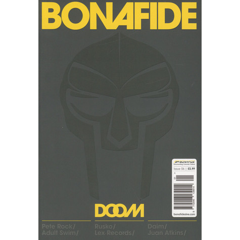 Bonafide Magazine - Issue 06: Doom