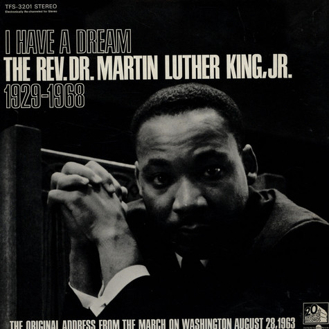 V.A. - I Have A Dream: The Rev. Dr. Martin Luther King, Jr. 1929-1968