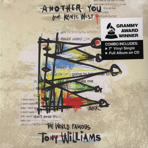 Tony Williams - Another You Feat. Kanye West Black Vinyl Edition
