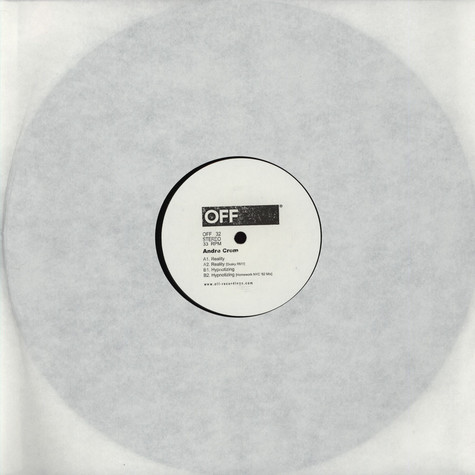 Andre Crom - Reality EP
