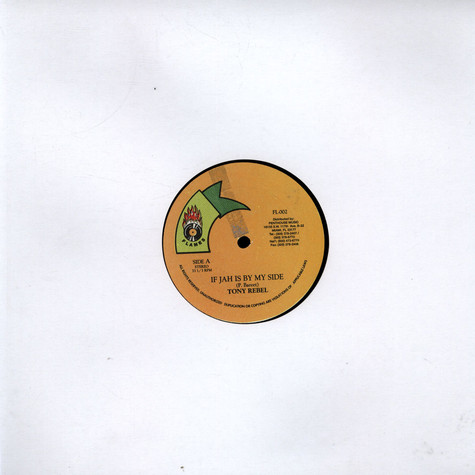 Tony Rebel - If Jah Is By My Side