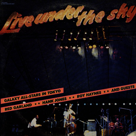 Galaxy All-Stars - Live Under The Sky