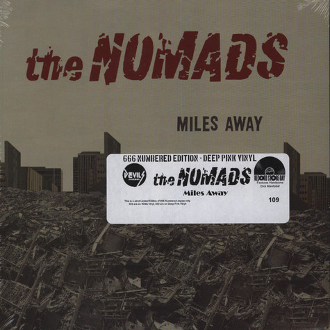 Nomads, The - Miles Away Pink Vinyl
